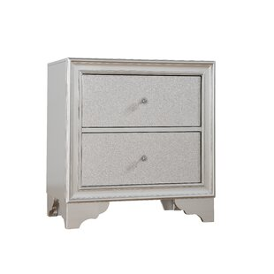 Finnley 2 Drawer Nightstand