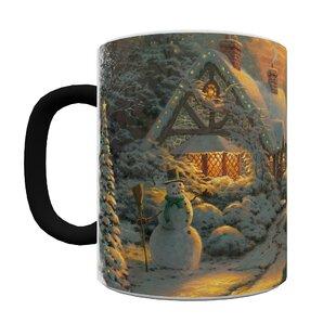 Thomas Kinkade (Christmas Evening) Heat-Sensitive Mug