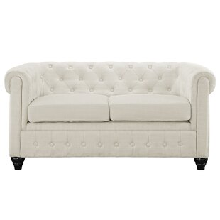 Shop Earl Chesterfield Loveseat by Modway