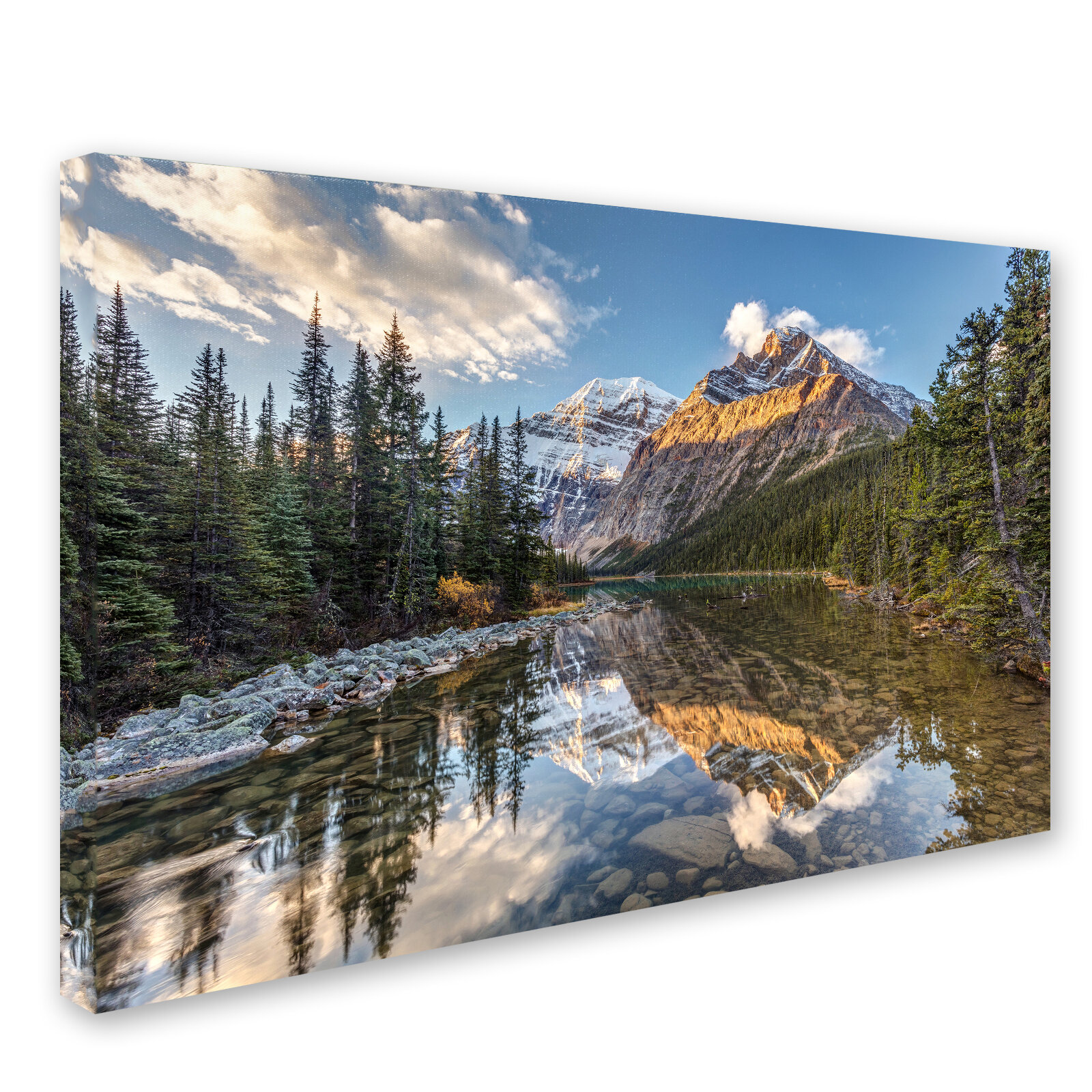 Trademark Art Jasper National Park By Pierre Leclerc Photographic Print On Wrapped Canvas Wayfair