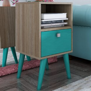 Langley Street Carneal 1 Drawer Nightstand