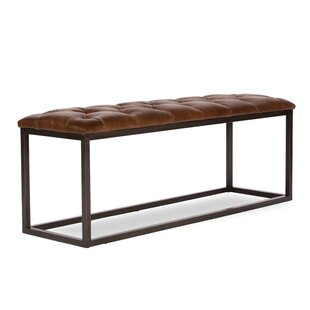 Mobley Leather Bench