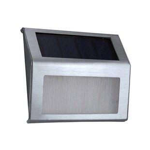 ALEKO Solar Powered 2 Light LED Pathway Light (Set of 2)