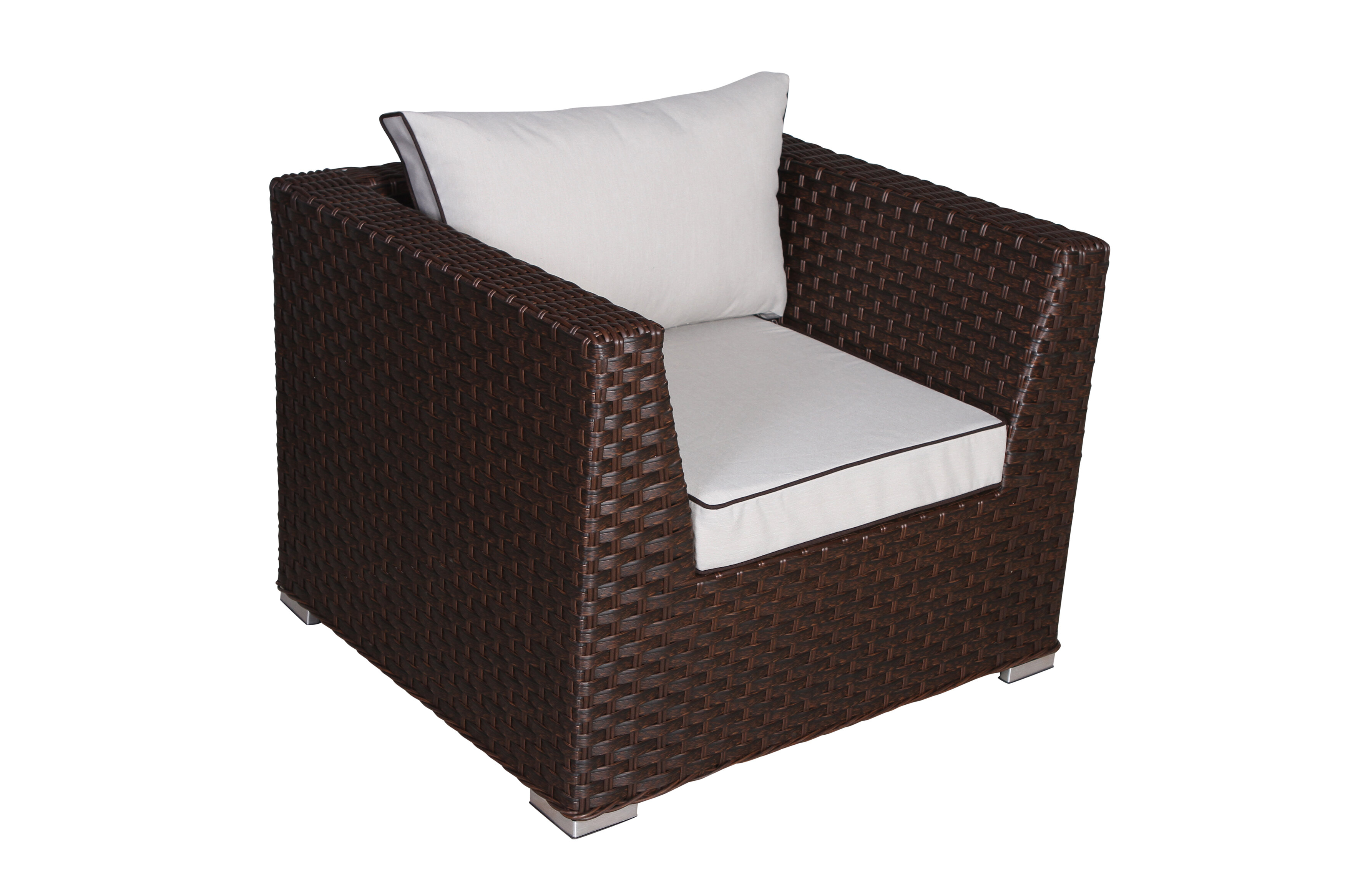 Bay Isle Home Winebarger Patio Chair With Cushions Wayfair