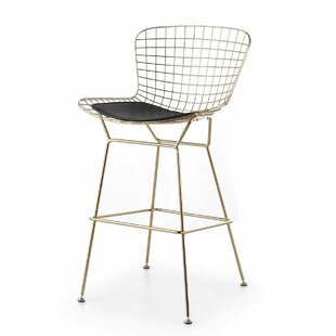 Deals Kromer Wire 25 Bar Stool by Wrought Studio Reviews (2019) & Buyer's Guide