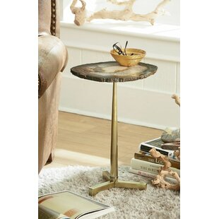 World Menagerie McMillan Agate End Table