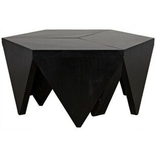 Noir Cassandra Puzzle Coffee Table