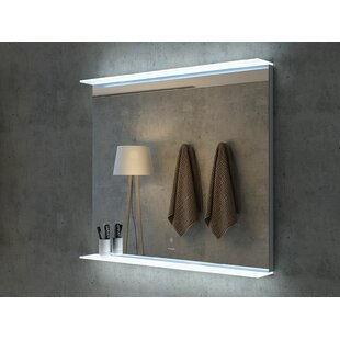 Best Derrow LED Bathroom/Vanity Mirror By Ebern Designs