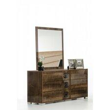 Armadale 3 Drawer Dresser with Mirror by Latitude Run