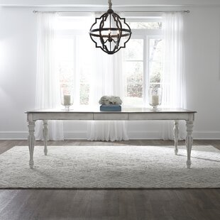 Tiphaine Extendable Dining Table Lark Manor