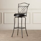 Apatow Bar & Counter Swivel Stool by Fleur De Lis Living