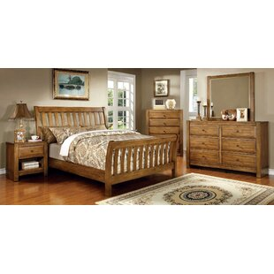 Beavers Panel Sleigh Configurable Bedroom Set by Millwood Pines Reviews