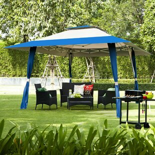 Kempsford 4m X 4m Metal Pop-Up Party Tent Image