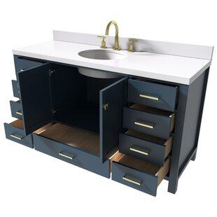 Joseline 61 Single Bathroom Vanity Set