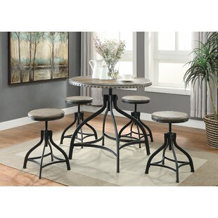 Solange 5 Piece Dining Set Gracie Oaks