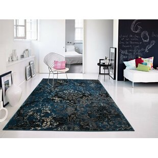 Compare & Buy Gullickson Foyer Gray/Blue Area Rug By Williston Forge
