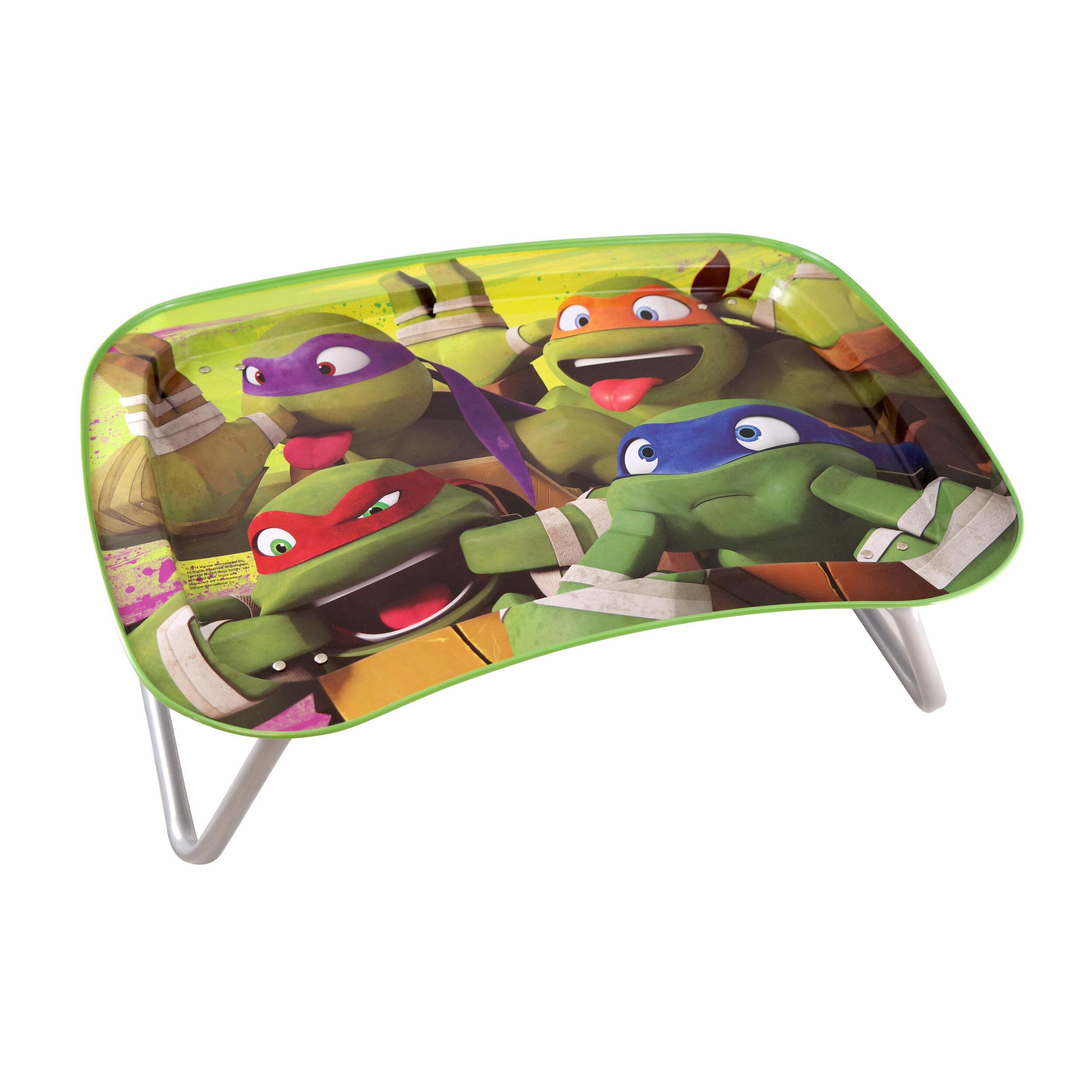 Pleasant Teenage Mutant Ninja Turtles Kids Snack And Play Tray Table Ibusinesslaw Wood Chair Design Ideas Ibusinesslaworg