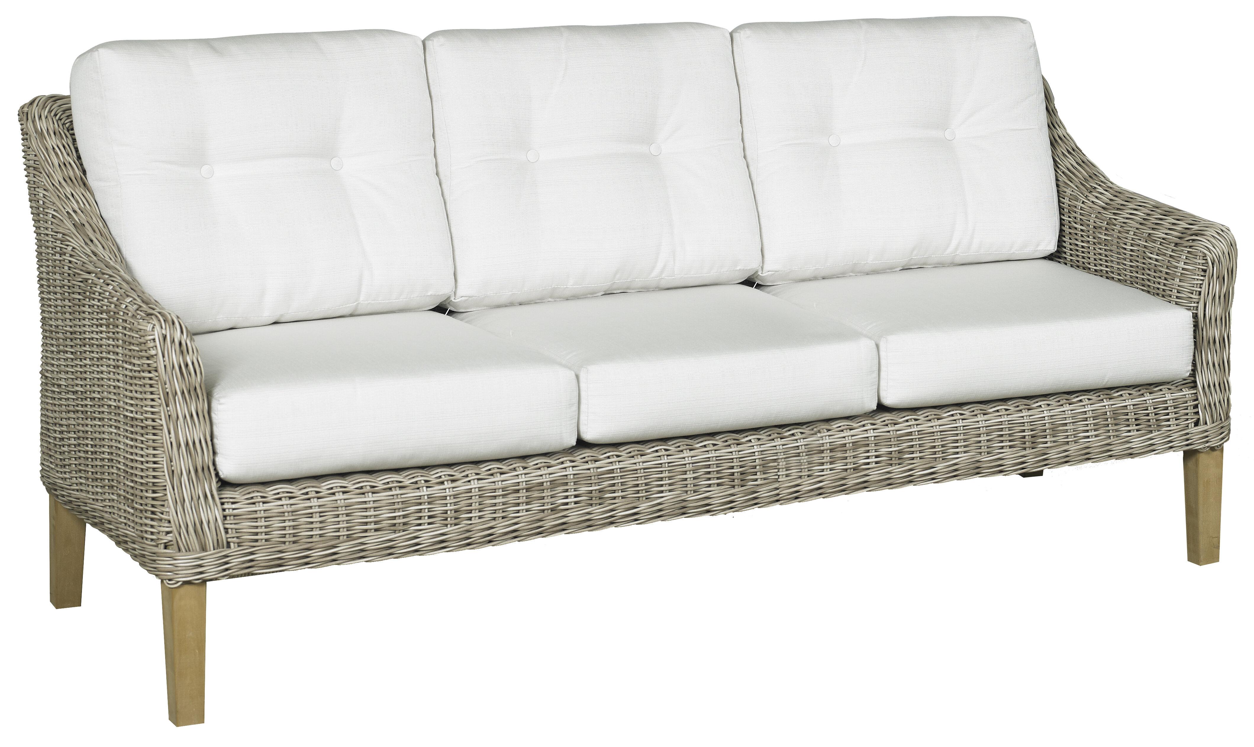 Carlisle Patio Sofa With Cushions