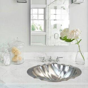 Linkasink Vintage Metal Specialty Drop-In Bathroom Sink