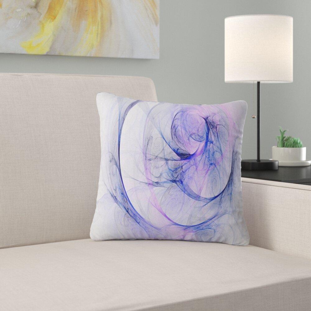 East Urban Home Abstract Storm Sky Pillow Wayfair