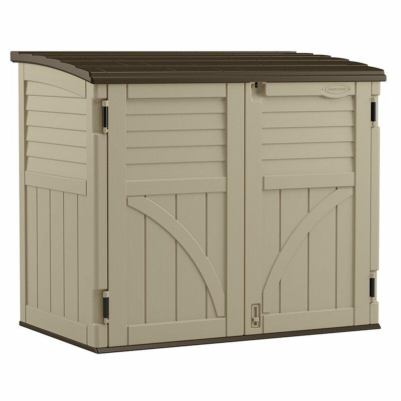 Epic International 330 Gallon Plasic Deck Box