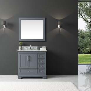 Orin 36 Single Bathroom Vanity Set with Mirror ByRosecliff Heights