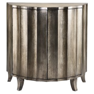 Chantel 2 Door Demilune Accent Cabinet By House of Hampton