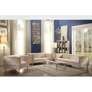 One Allium Way Hermione 2 Piece Living Room Set