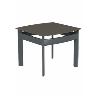 Kor Square Aluminum End Table by Tropitone 2019 Sale