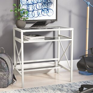 Chemung Glass Writing Desk