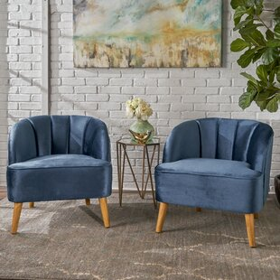 Reviews Javion Barrel Chair (Set of 2) by Mistana Reviews (2019) & Buyer's Guide