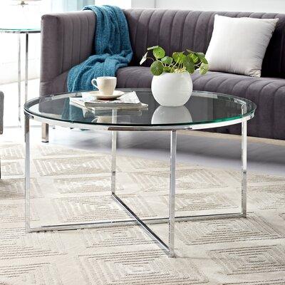 Chrome Coffee Tables Joss Amp Main