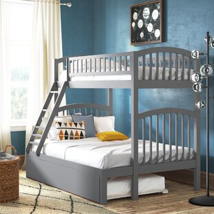 Inexpensive Jackie Twin over Full Bunk Bed with Trundle by Viv + Rae Reviews (2019) & Buyer's Guide