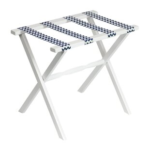 Great Price Chevron Series Straight Leg Luggage Rack By Gate House Furniture