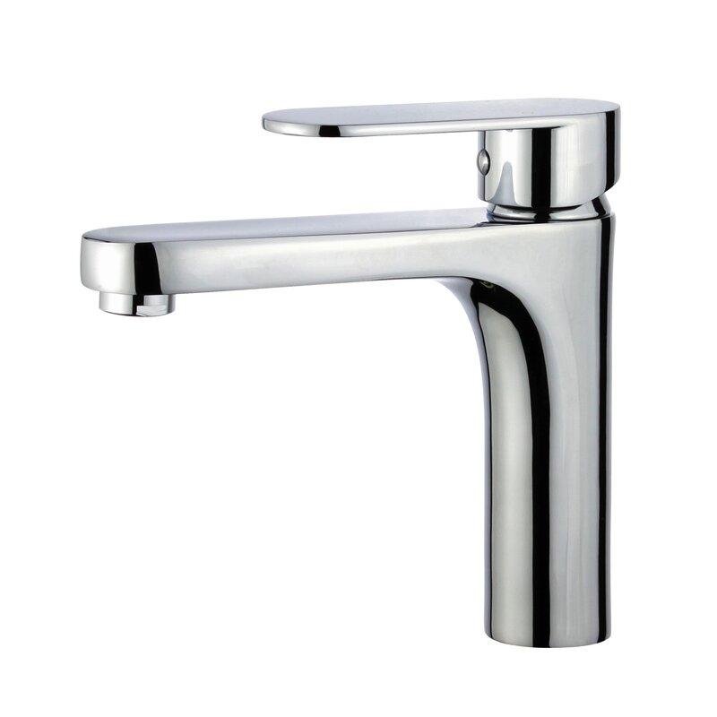 Donostia Single Hole Bathroom Faucet with Drain Assembly