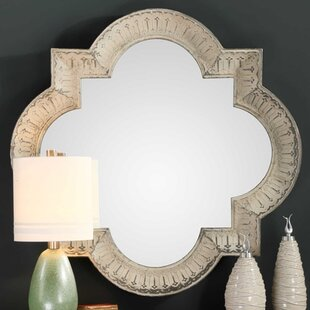 Traditional Large Aged Accent Mirror