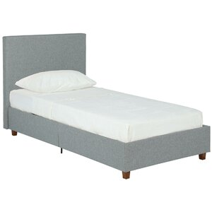 Evanston Twin Upholstered Platform Bed