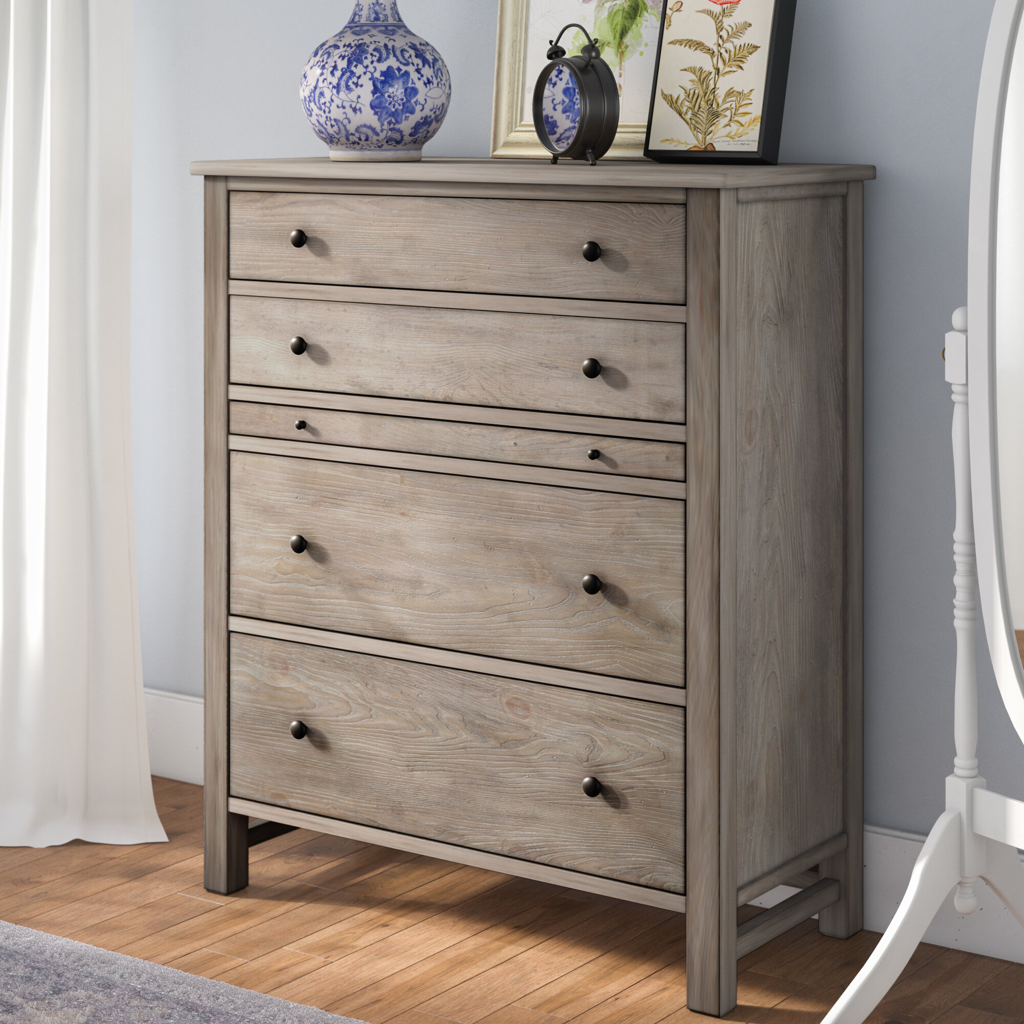 product fifth black drawer chest montauk four drawers