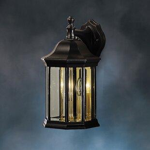Three Posts Bayou 3-Light Outdoor Wall Lantern