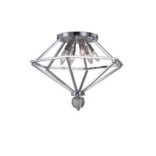 CWI Lighting Calista 6-Light Flush Mount