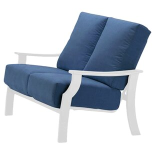 Telescope Casual Catherine Indoor/Outdoor Loveseat with Cushion