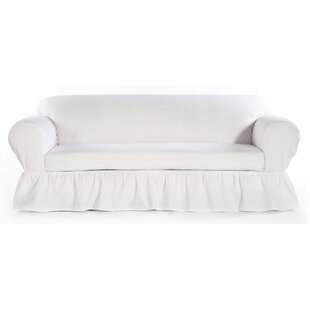 Sofa Skirted Box Cushion Slipcover