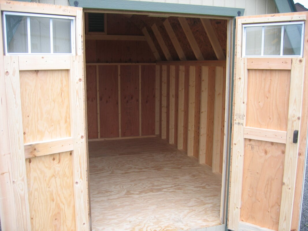 Colonial Greenfield 10 Ft. W X 10 Ft. D Wooden Storage Shed