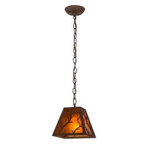 Meyda Tiffany Branches 1-Light Lantern Pendant