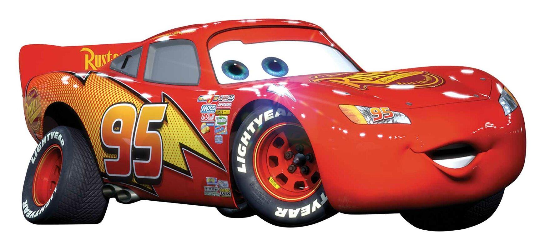 Wallhogs Disney Cars Lightning Mcqueen Room Makeover Wall Decal