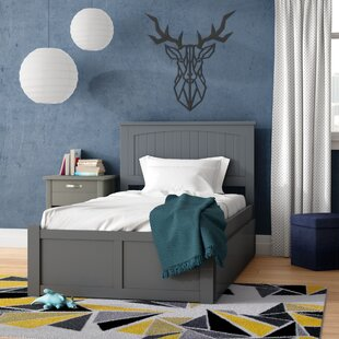 West Side Twin Platform Bed with Urban Trundle by Viv + Rae