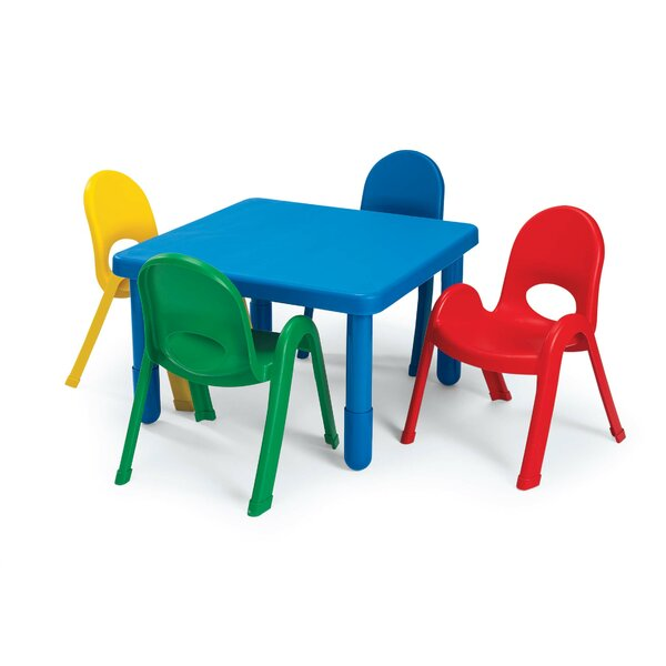Angeles Kids Table And Chair Set U0026 Reviews | Wayfair