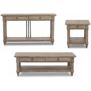 Ariel 3 Piece Coffee Table Set