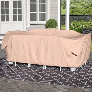 Andover Mills Water Resistant Modular Patio Dining Set Covers