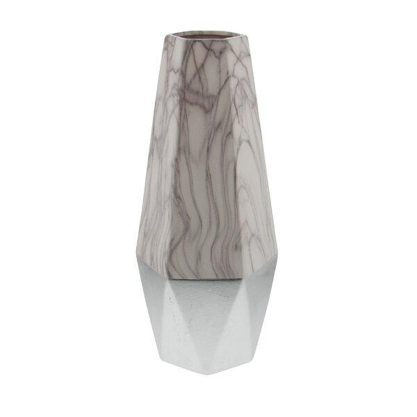 Mercer41 Leyt Ceramic Floor Vase Reviews Wayfair